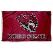 CSU Chico Wildcats New Logo 3x5 Foot Flag