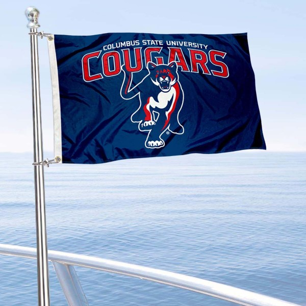 CSU Cougars Boat Nautical Flag