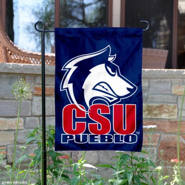 CSU Pueblo Thunderwolves Garden Flag