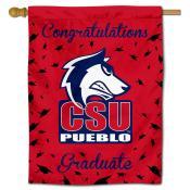 CSU Pueblo Thunderwolves Graduation Banner