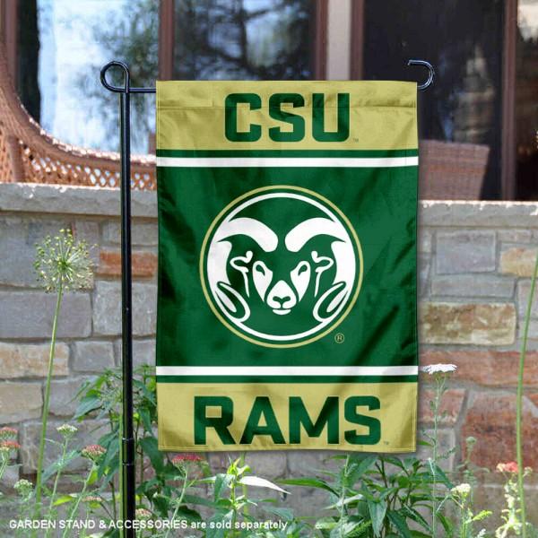 CSU Rams Garden Flag