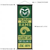 CSU Rams Wall Banner and Door Scroll