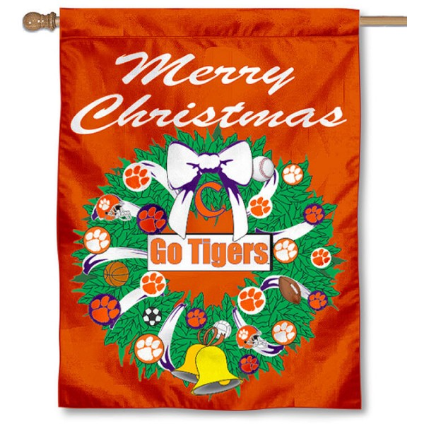 CU Tigers Holiday Flag