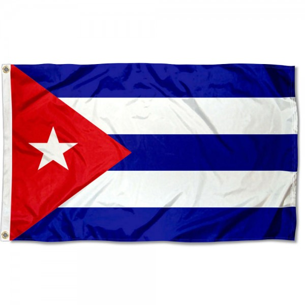 Cuba Country 3x5 Polyester Flag
