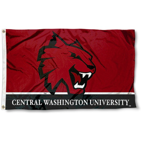 CWU Wildcats Flag