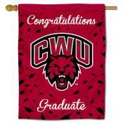 CWU Wildcats Graduation Banner
