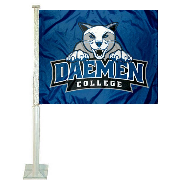 Daemen Wildcats Car Flag