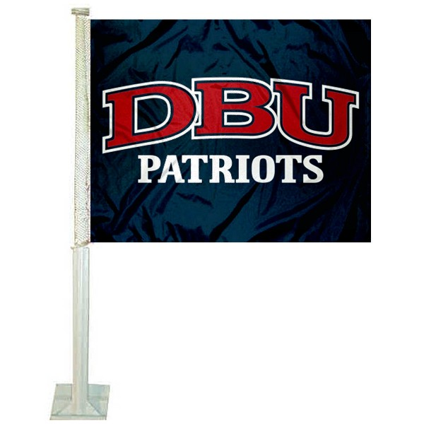 Dallas Baptist Patriots Car Flag