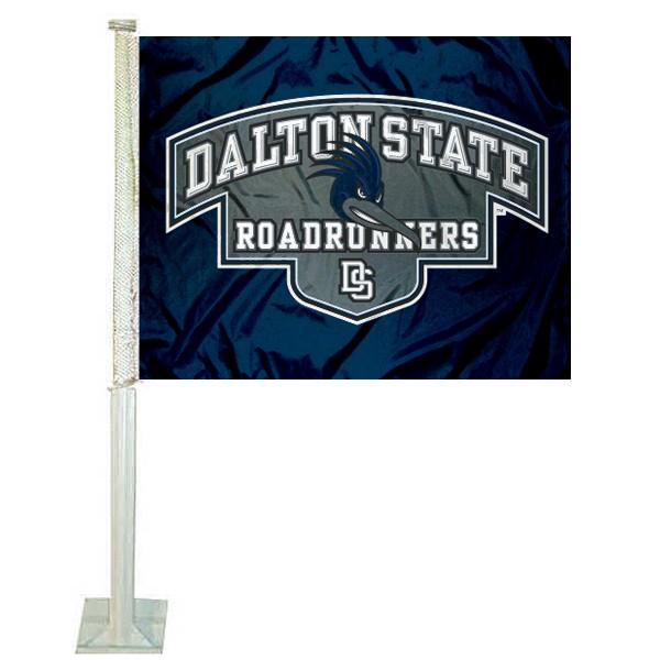 Dalton State Roadrunners Car Flag
