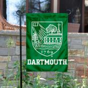 Dartmouth Big Green Academic Crest Garden Flag