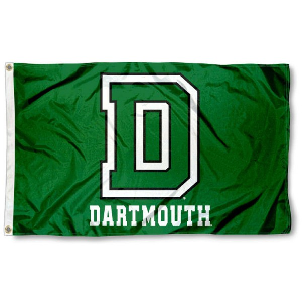 Dartmouth Big Green Athletic Insignia 3x5 Foot Flag