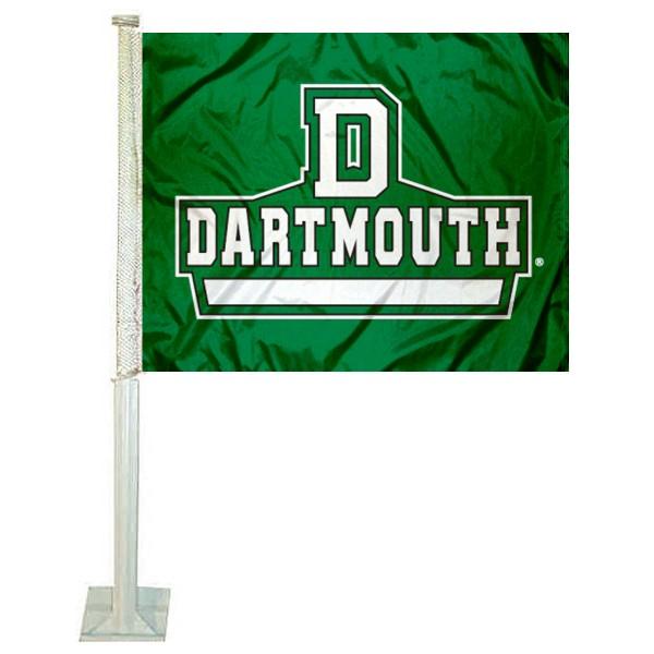 Dartmouth Big Green Car Flag