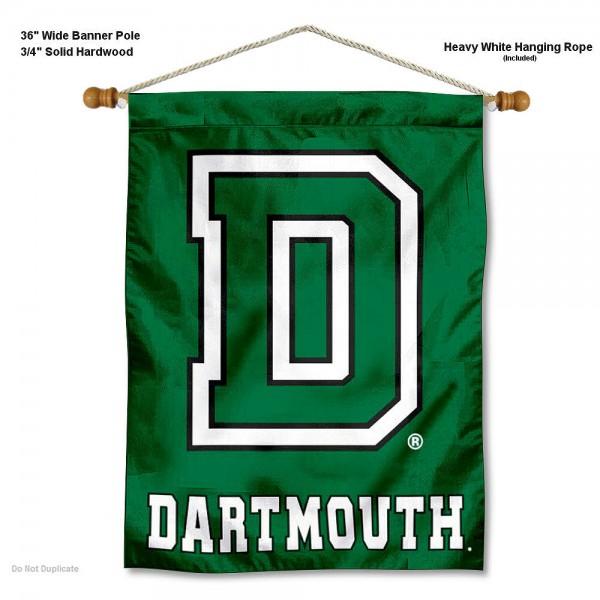 Dartmouth Big Green Wall Hanging