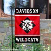 Davidson Wildcats Garden Flag