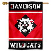 Davidson Wildcats House Flag