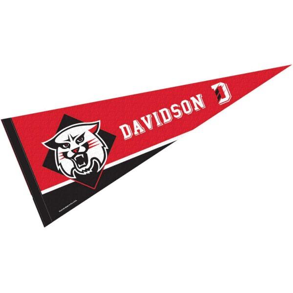 Davidson Wildcats Pennant