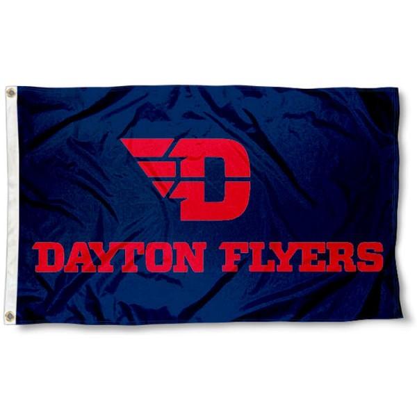 Dayton Flyers New Logo Flag