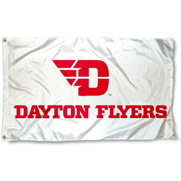 Dayton Flyers New Logo White Flag