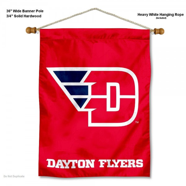 Dayton Flyers Wall Hanging