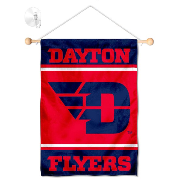 Dayton Flyers Window Hanging Banner with Suction Cup