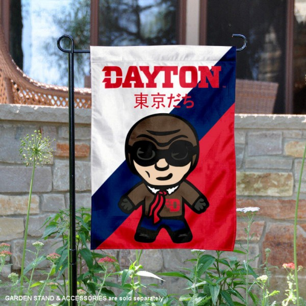 Dayton Flyers Yuru Chara Tokyo Dachi Garden Flag
