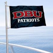 DBU Patriots Boat Nautical Flag