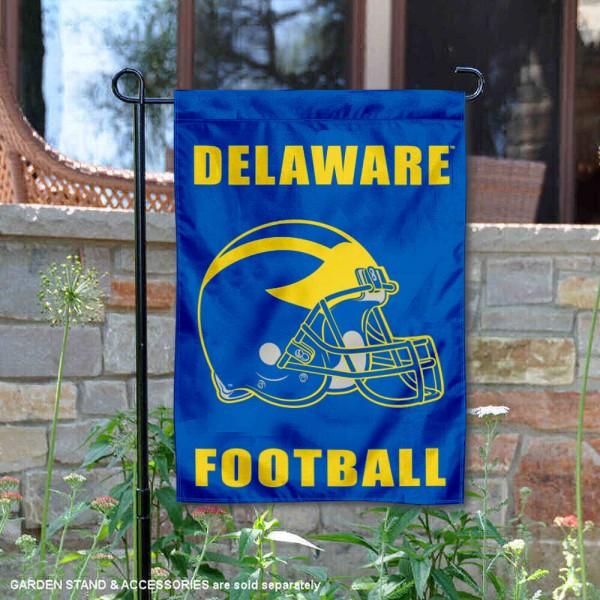Delaware Blue Hens Football Garden Flag