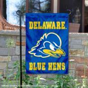 Delaware Blue Hens Garden Flag