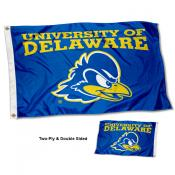 Delaware Blue Hens Two Sided 3x5 Foot Flag