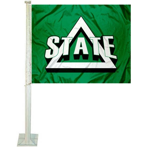 Delta State Statesmen Logo Car Flag