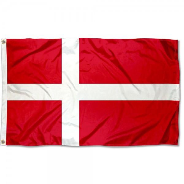 Denmark Country 3x5 Polyester Flag