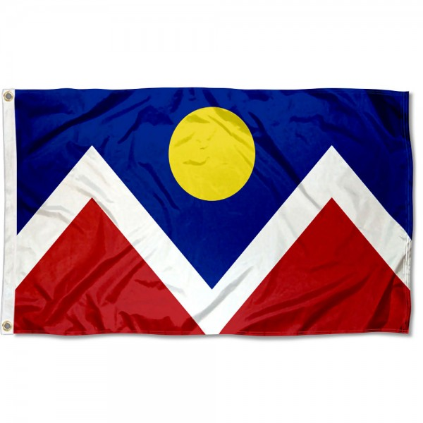 Denver City 3x5 Foot Flag