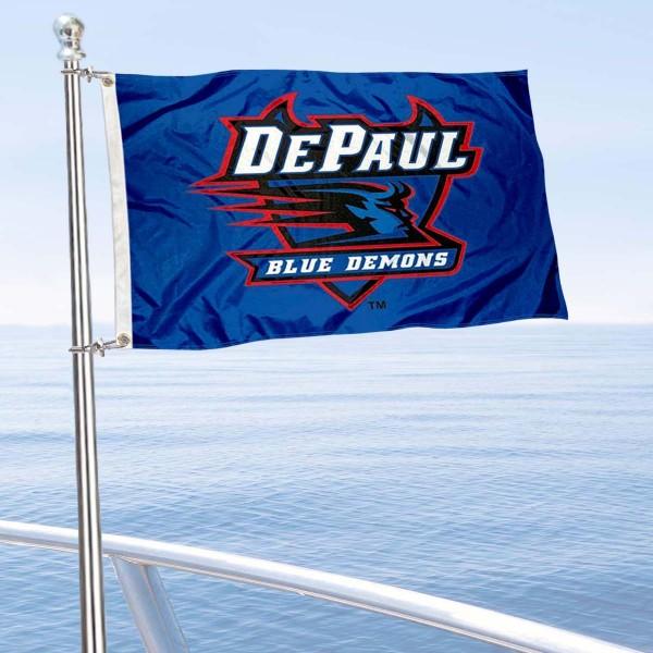 DePaul Blue Demons Boat Nautical Flag