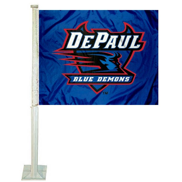 DePaul Blue Demons Car Flag
