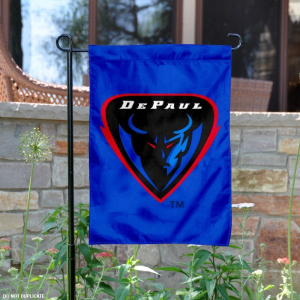 DePaul Blue Demons Garden Flag