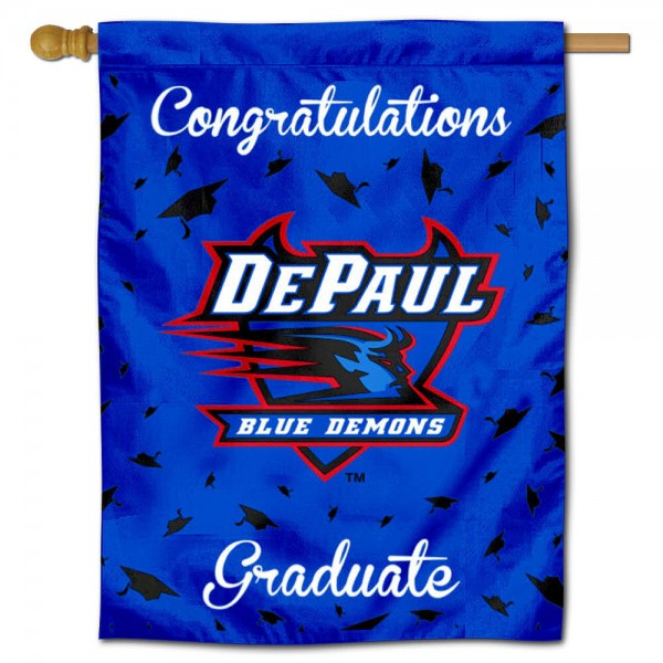 DePaul Blue Demons Graduation Banner