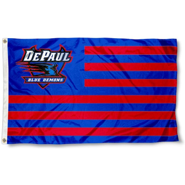 DePaul Blue Demons Nation Flag