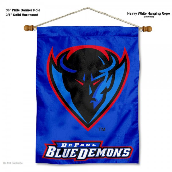 DePaul Blue Demons Wall Hanging