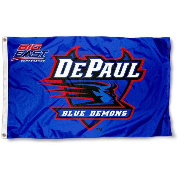 DePaul University Big East Flag