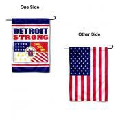 Detroit Strong Yard Garden Banner