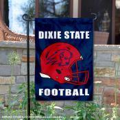 Dixie State Football Garden Flag