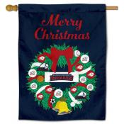 Dixie State Trailblazers Christmas Holiday House Flag