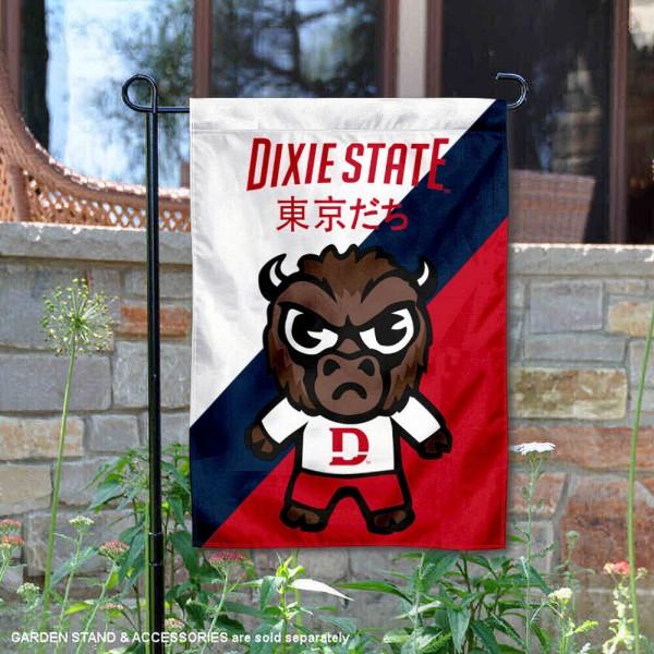 Dixie State Trailblazers Yuru Chara Tokyo Dachi Garden Flag