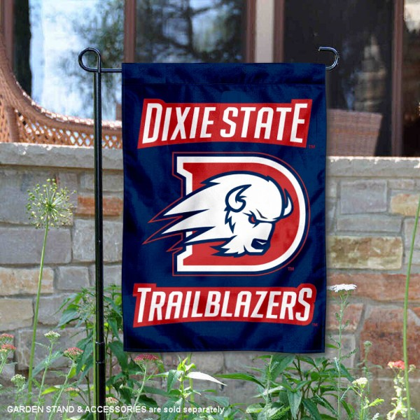 Dixie State University Double Sided Garden Flag