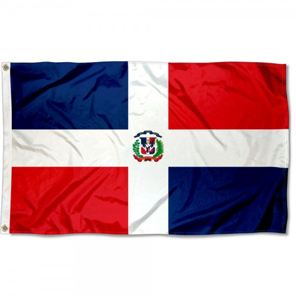 Dominican Republic Country 3x5 Polyester Flag