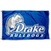 Drake Bulldogs Blue Flag