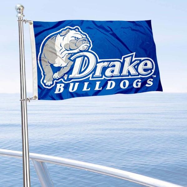Drake Bulldogs Boat Nautical Flag