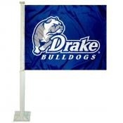 Drake Bulldogs Car Flag