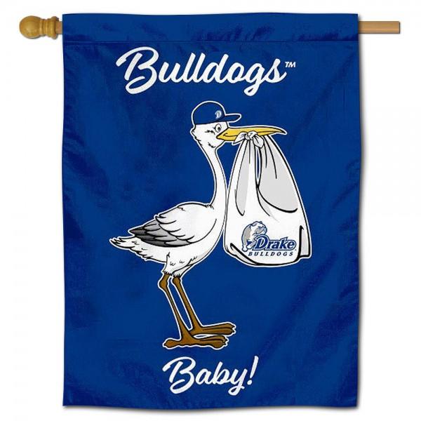 Drake Bulldogs New Baby Banner