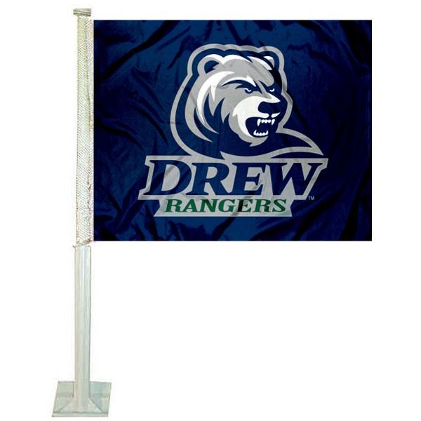 Drew Rangers Car Flag
